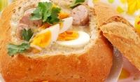 Супа в хлебче
