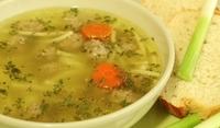 Супа с кайма