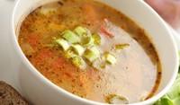 Супа с праз и месо