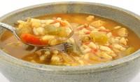 Пилешка супа с картофи и ориз