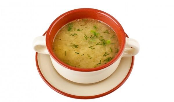 Телешка супа със зелев сок
