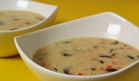 Гъбена супа със сметана