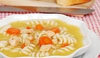 Пилешка супа с макарони