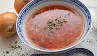 Пилешка супа със спагети