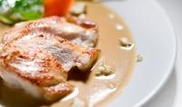Свинско бон филе със сметана
