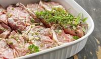 Месо със сметанов сос