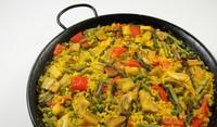 Ориз със зеленчуци и бекон