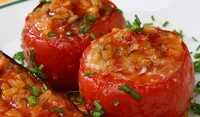 Пълнени домати с мляно говеждо