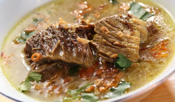 Грузинска хашлама от телешко месо