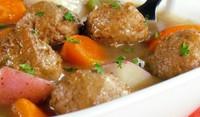 Кюфтета на фурна с моркови и лук