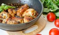 Пиле с мащерка и бекон