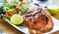 Пиле на грил с лайм