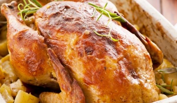 Печено пиле по рецептата на мама