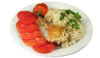 Пиле с бял ориз