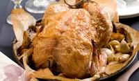 Пиле в тесто