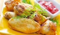 Пилешки крилца с кашкавал
