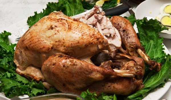 Печено пиле по френски
