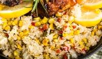 Ориз с пилешко и царевица