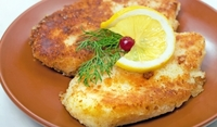 Пържено пиле с пармезан