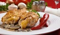 Пилешки рулца с крема сирене
