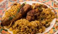 Крилца с ориз на фурна