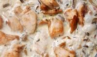 Бяло месо със сметана