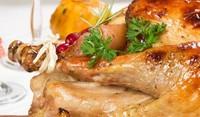 Пиле с боровинков сос