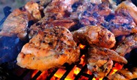 Мариновани пилешки гърди на скара