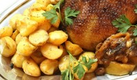 Патица с картофи