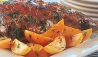 Агнешко печено по гръцки с картофи