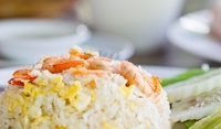 Ориз с гъби и скариди