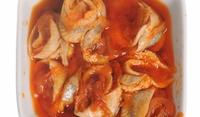 Рибно филе с конячен сос