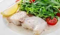 Риба с млечен сос