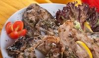 Никулденски шаран със зеленчуци