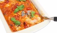 Пангасиус в доматен сос