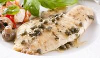 Бяла риба с маслини на фурна