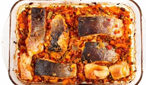 Риба по гръцки