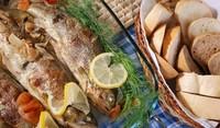 Лесна риба на фурна