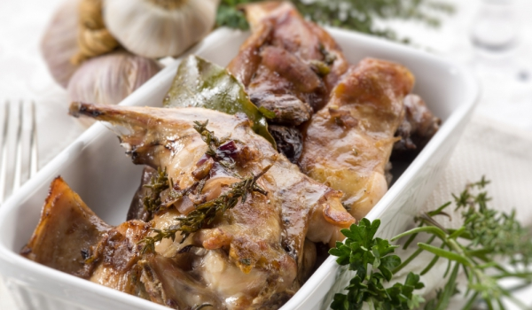 Заешко филе по провансалски