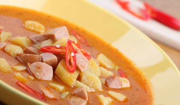 Супа с кренвирши