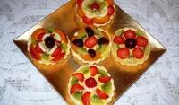 Тарталети с ягоди