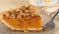 Американски тиквен сладкиш с орехи и кленов сироп