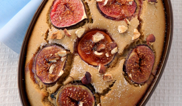 Италиански сладкиш със смокини и бадеми