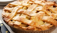 Орехово-ябълков пай