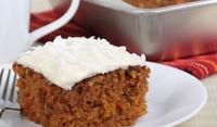 Ароматен морковен кекс с джинджифил