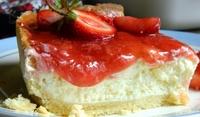Ягодов чийзкейк с лешници и крема сирене