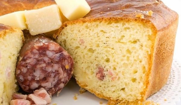 Солен кекс с кашкавал и колбас