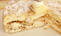 Домашен сладкиш с многолистно тесто