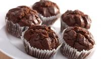 Мъфини с три вида шоколад