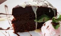 Френска шоколадова торта с кафе